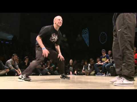 1/8 finale 1vs1 BBOY : Cheerito (RUS) vs Sunni (ENG)
