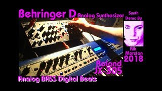 Behringer D Roland JX-305 Analog Bass Digital Beats Synthesizer Rik Marston