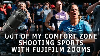 OUT OF MY COMFORT ZONE - Shooting Sport With Fujifilm Zooms