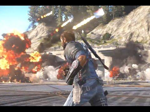 Just Cause 3 – Геймплей на русском E3 2015 (HD)