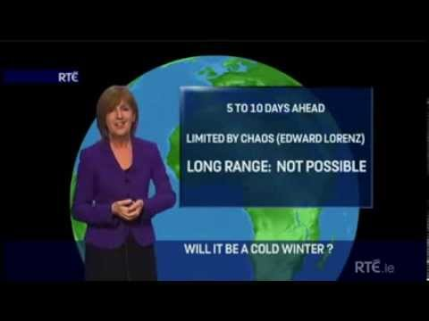 RTE's Evelyn Cusack's Best Weather Forecast Ever! klip izle