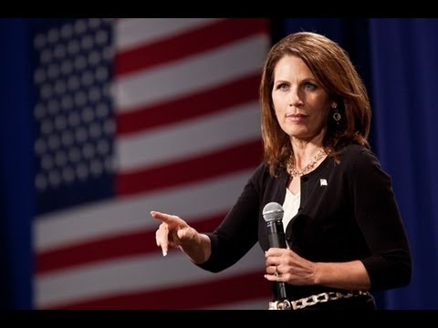 Audience Laughs at Bachmann: 'I Don't Do Political Speech'