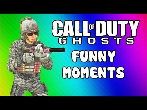 COD Ghosts Funny Moments - Chasm Bus, Drowning, Tree, Tremor (Trolling Friends / Map Interactions)