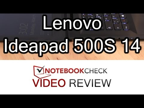 Lenovo Ideapad 500S 14ISK Laptop Review and test results
