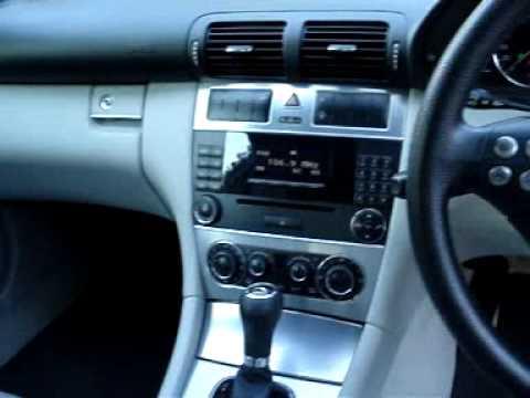 Mercedes Benz 2005 C180 Kompressor Sports Coupe in Black for sale in Brisbane!