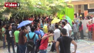 بالفيديو.. شاهد احتفال كلية الفنون الجميلة باستقبال الطلاب الجدد