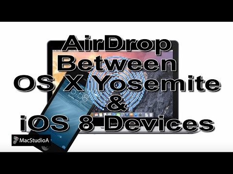 AirDrop Between OS X Yosemite and iOS 8 Devices