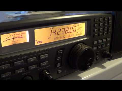 PY7DJ 20 meters amateur radio from Brazil