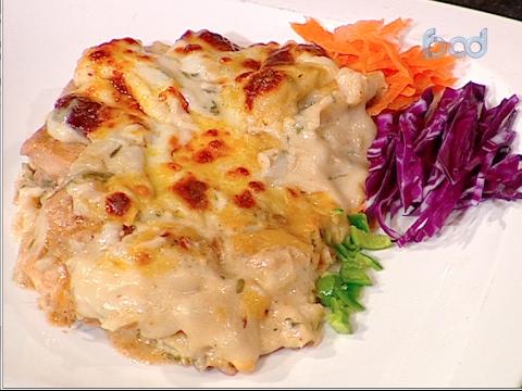 لازانيا بشرائح الدجاج على طريقة الشيف #غفران_كيالي من برنامج #هيك_نطبخ #فوود