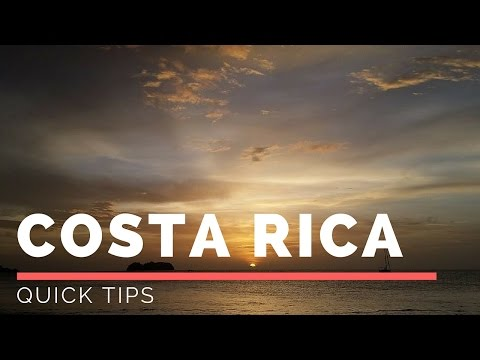 5 Tips for Costa Rica 2014