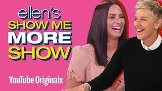 Download Lagu Too Hot for TV: Demi Lovato and Ellen Play 5 Second Rule Gratis STAFABAND