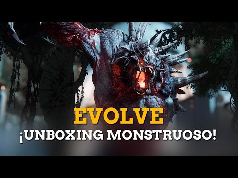 Unboxing de Evolve: As� es el kit especial para prensa