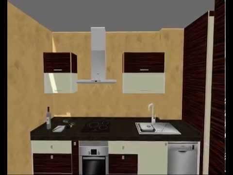 Cocina alto brillo con lavadero integrado serie luxe for Lavaderos de cocina