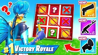 Playing TIC TAC TOE For LOOT in FORTNITE
