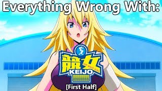 Everything Wrong With: Keijo!!!!!!!! | (First Half)