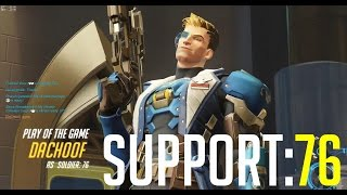 Overwatch Trolling ~ Soldier: 76 Support