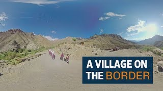 A portrait of a village on the Border