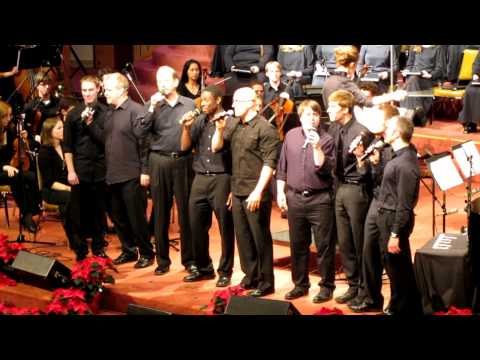 Northwest Christian University male ensemble (Noel) 12-03-11