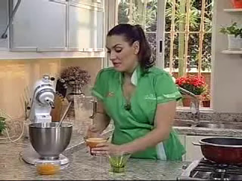 Receta para preparar Dulce Helado de Mango