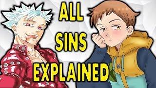 The Seven Deadly Sins | HOW THEY GOT THEIR SINS! EXPLAINED | Nanatsu No Taizai