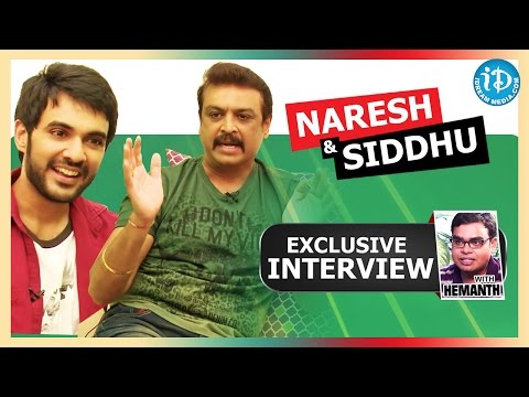 Hero Naresh & Siddhu Exclusive Interview || Talking Movies with iDream # 116