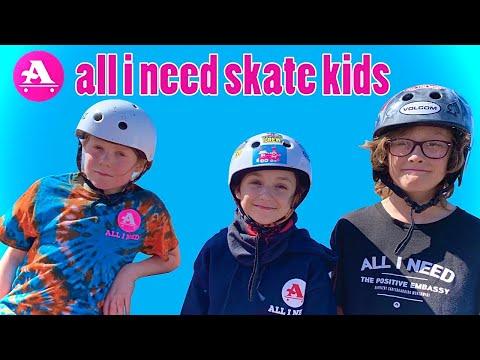 All I Need skate kids Uxbridge skatepark