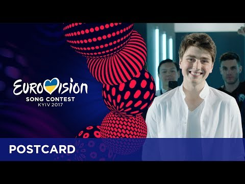 Postcard of Brendan Murray from Ireland - Eurovision Song Contest 2017