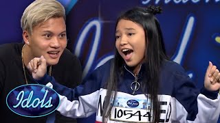 download lagu INCREDIBLE Young Singer Anneth Delliecia Auditions For Indonesian Idol Junior   Idols Global mp3