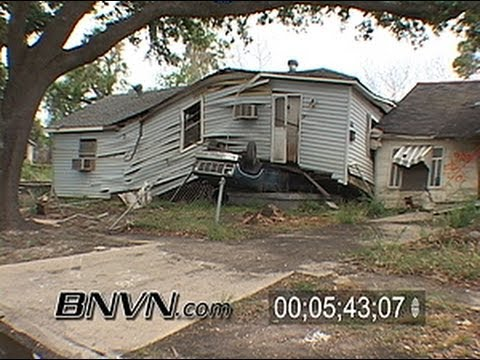 5/5/2006 New Orleans, LA - Nine Months after Katrina Part 5 - Lower Ninth Ward devestation