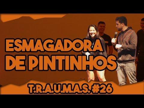 T.R.A.U.M.A.S. #26 - ESMAGADORA DE PINTINHOS (Cascavel, PR) Vídeos de zueiras e brincadeiras: zuera, video clips, brincadeiras, pegadinhas, lançamentos, vídeos, sustos