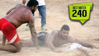 BEST MATCH:-  Lasara VS Ghanauri (Badbar kabaddi Tournament 2017)