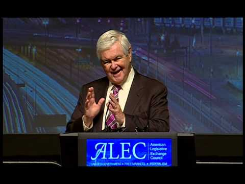 Newt Gingrich 2014 ALEC Annual Meeting
