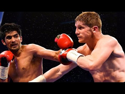 Vijender Singh knocks down Hope to clinch WBO Asia Pacific title