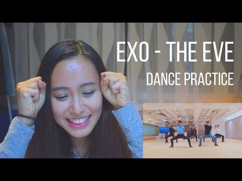 EXO - The Eve Dance Practice Reaction