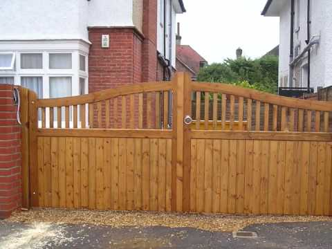 Gate designs pdf joy studio design gallery best design for Wooden driveway gate designs