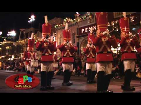 1. A Christmas Fantasy Parade - Disneyland Resort 11/13/09