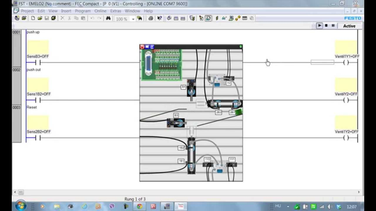 Learning PLC programming  120    examples    of EasyVeep s 1   Ladder       Diagram     YouTube