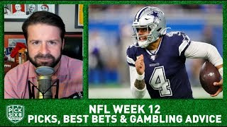 Week 12 Picks Against the Spread, Best Bets, Gambling Advice I Pick Six Podcast