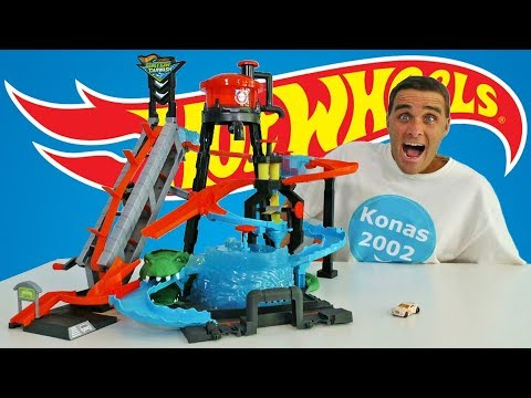 Hot Wheels Ultimate Gator Car Wash ! || Toy Review || Konas2002