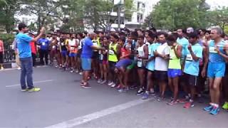 10.5 Km Open Men Yamuna Quarter Marathon 2017 | Quarter Marathon in Delhi