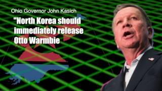 Otto Warmbier sentenced to 15 years hard labor in North Korea