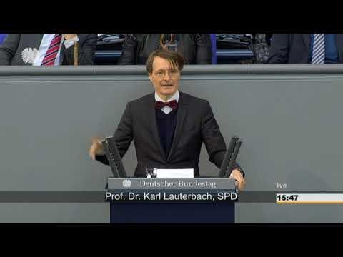 Karl Lauterbach: Gesundheitsversorgung [Bundestag 11.06.2015]