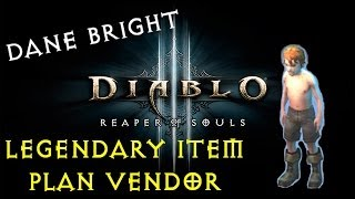 How To Find Dane Bright | Diablo 3: Reaper of Souls (Sells ALL Craftable Legendary Plans)