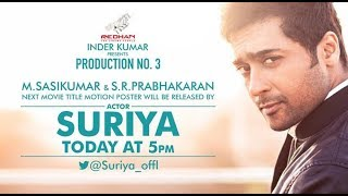 Surya said okay for the story which is rejected by Vijay – Sasikumar reveals