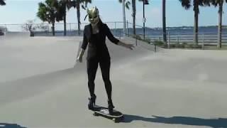 Skateboarding In High Heels - Sweet Riverwalk Days
