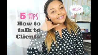 5 Tips: How to Talk to Clients! (Event Planning Career 101)