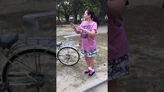 Exercising in Tainan park