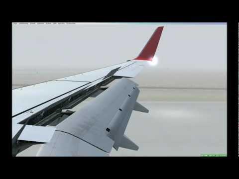 [FSX] PMDG 737 800 NGX Berlin - Vienna (Autoland CAT IIIb)