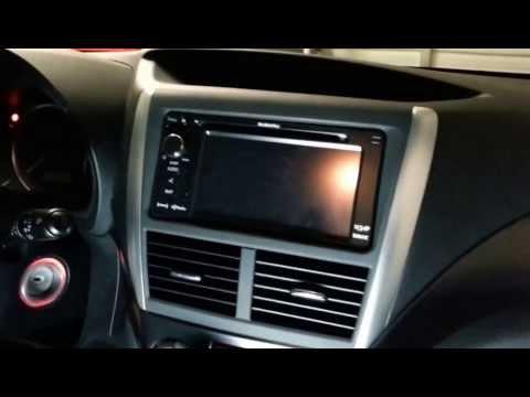 2012 Subaru STI Backup Camera Install