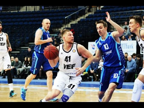 Tsmoki-Minsk vs VEF Highlights Feb 12, 2016